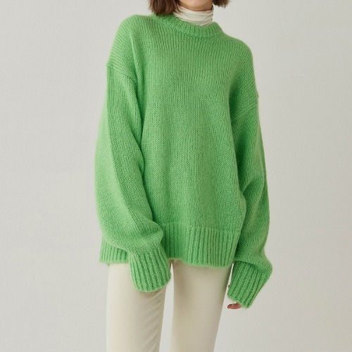 Colors mohair Knit