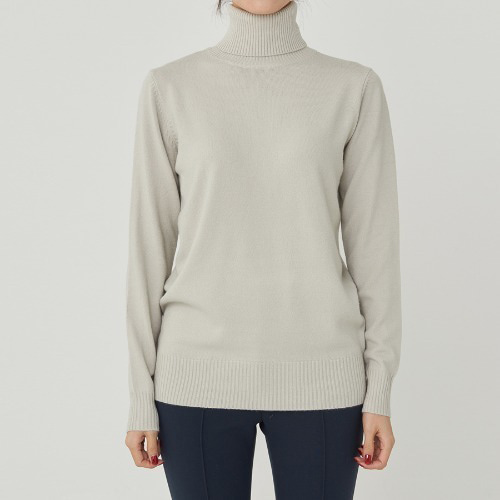 SOFT TOUCH REGULAR TURTLE NECK KNIT