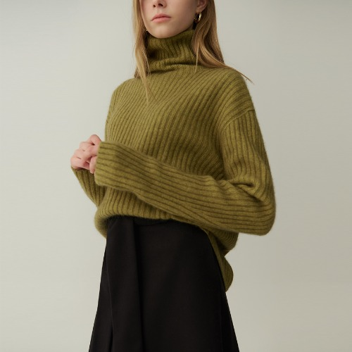 Standard Ribbed turtle knit