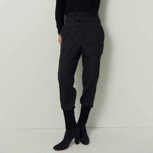 MM. Banding  jogger trousers
