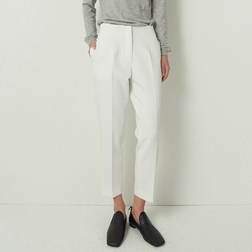 19 S/S THE ROW DOUBLE FACE TROUSERS