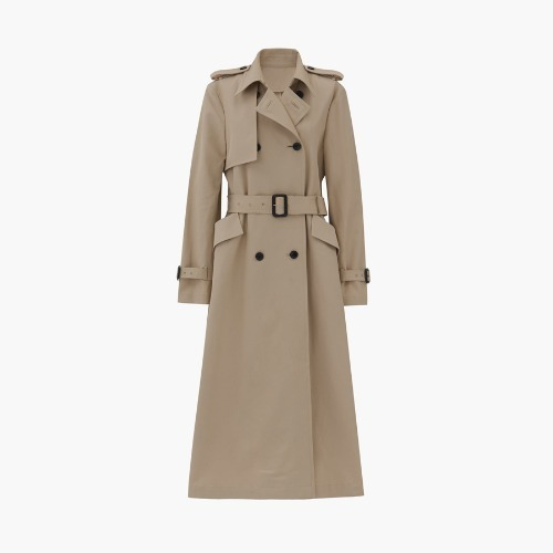 Collection cotton trench