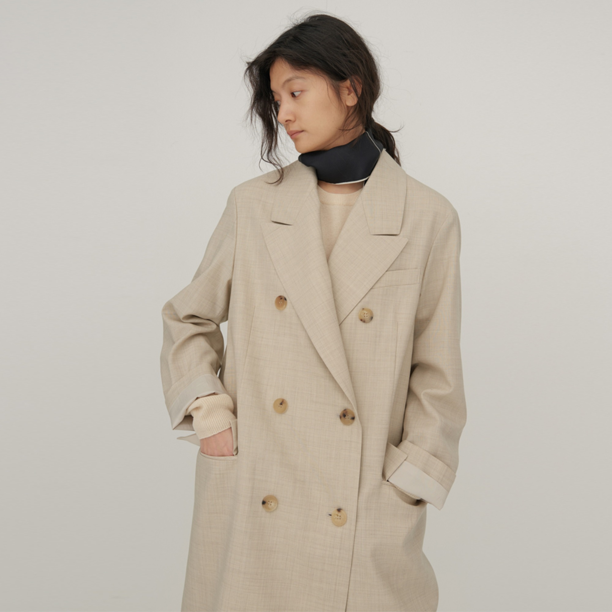 Jemma double long jacket