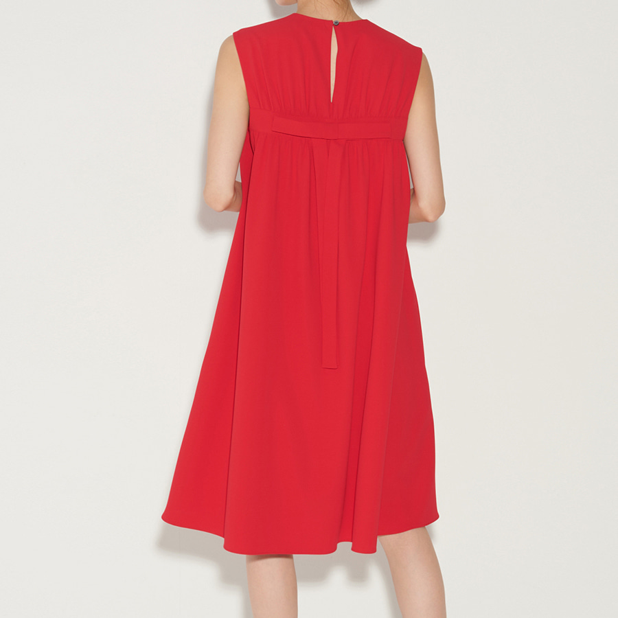 Back Ribbon Cocktail Dress