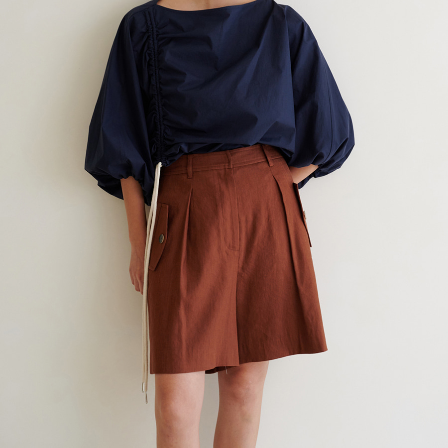 Brown Simple Culottes