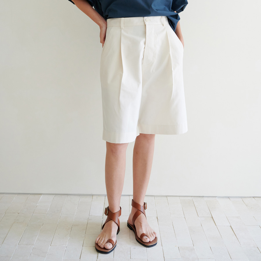 Chic Buttoned Shorts