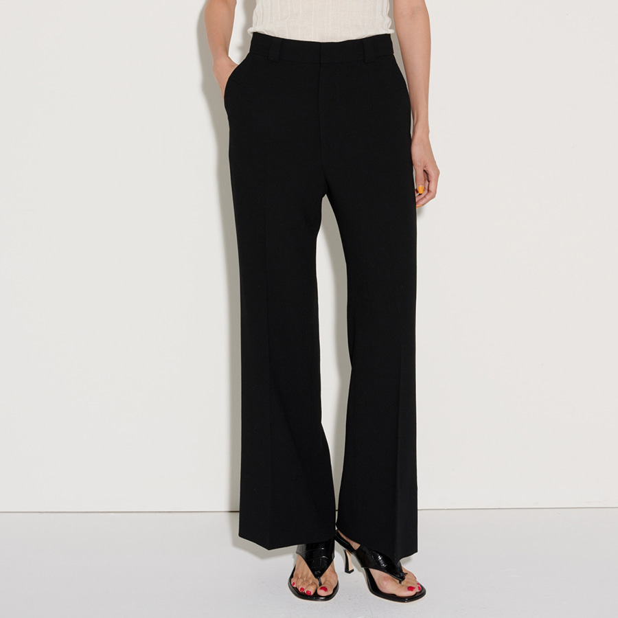 Arch wool-crepe Trouser