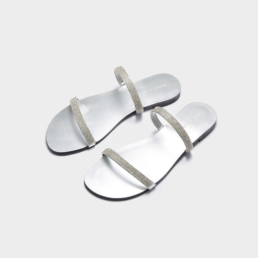 Flavre Crystal Sandals