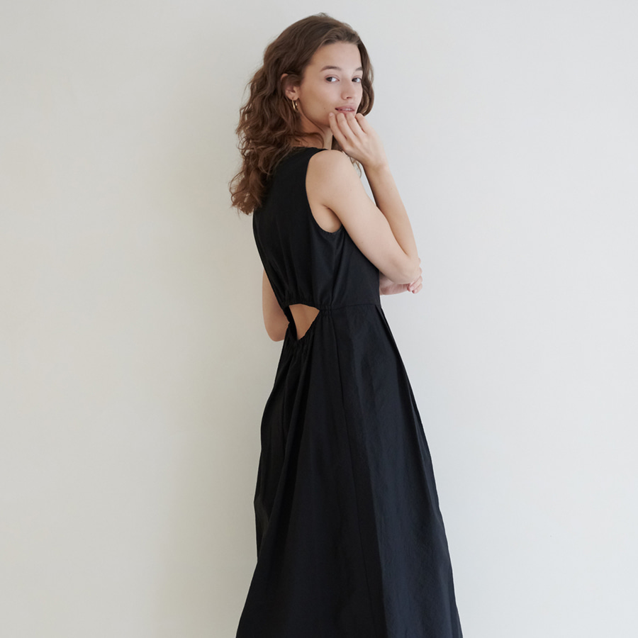 Joel open back dress