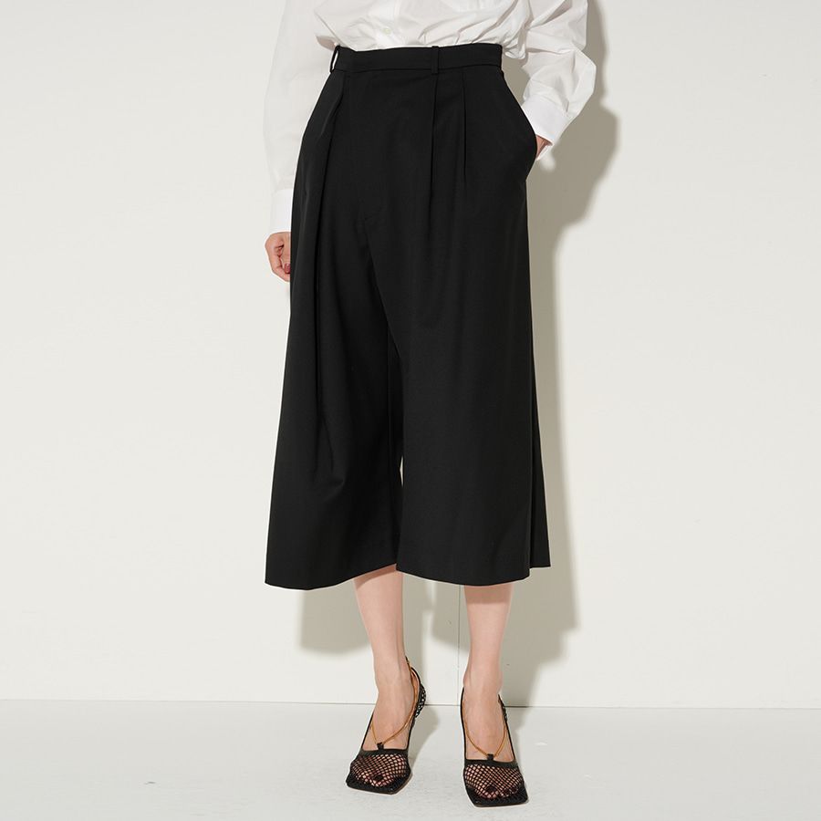 Marge pinched wrap culottes
