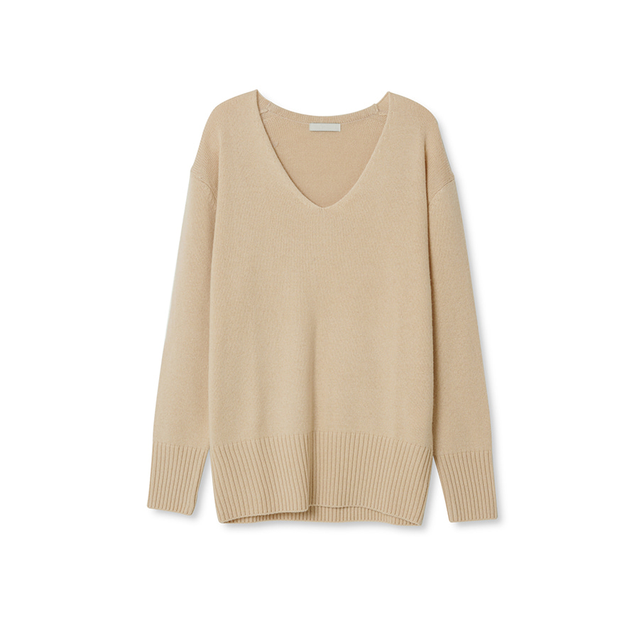 Yak V neck knit