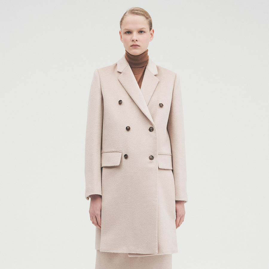 Lux tailored double coat