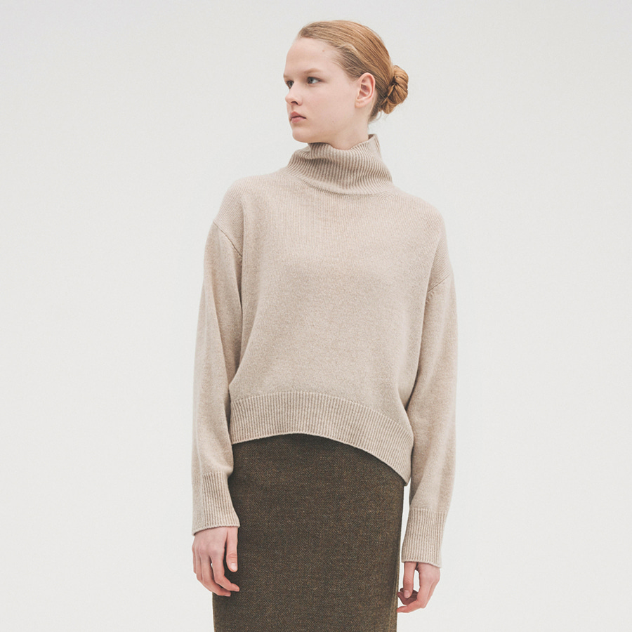 Light curved turtle knit