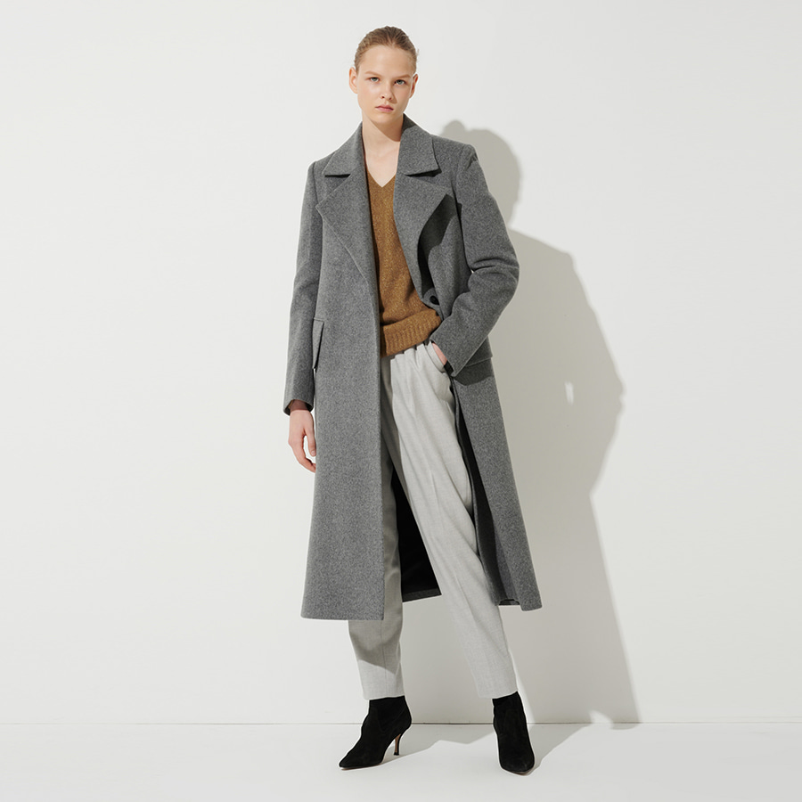 PHILOSOPHY SIDE OPEN WOOL COAT