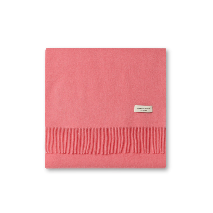 [SUPER CASHMERE] BASIC SOLID MUFFLER (SEASON COLOR)