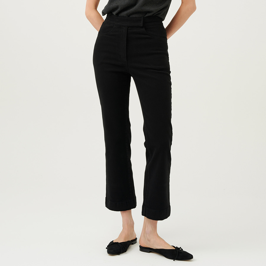 JANET cotton warm crop pants