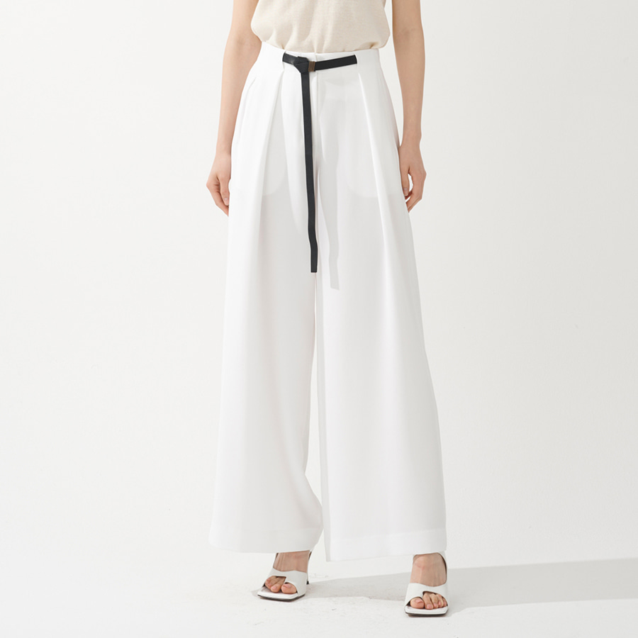 Risa summer wide belted trousers