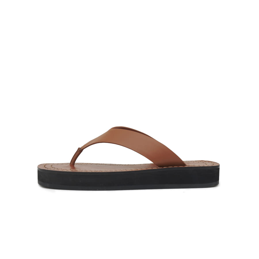 Ginza leather slides